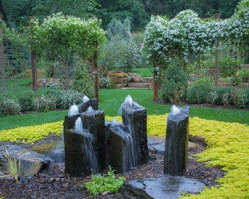 Outdoor Water Fountain Ideas Houzz