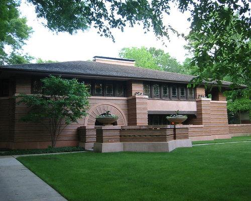 Shade small craftsman chicago front yard landscape design photos