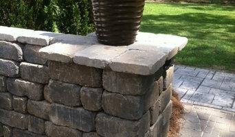 Free Standing Retaining Wall