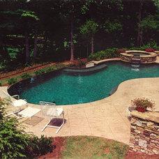 Traditional Pool by Botanica Atlanta | Landscape Design-Build-Maintain