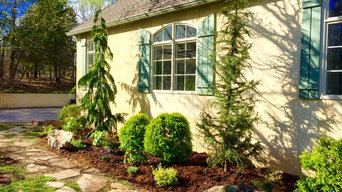 French Country Landscape Design