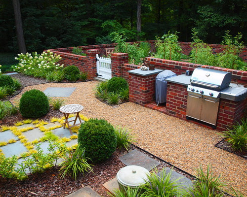 Low Brick Garden Wall Ideas Pictures Remodel and Decor