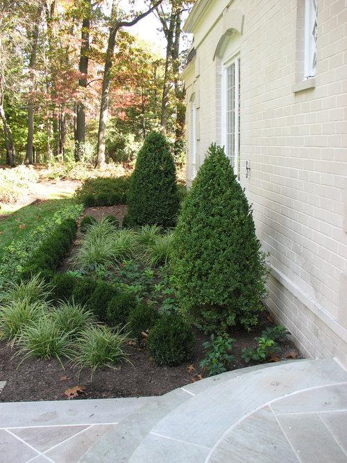 French-inspired Boxwood Parterre Garden