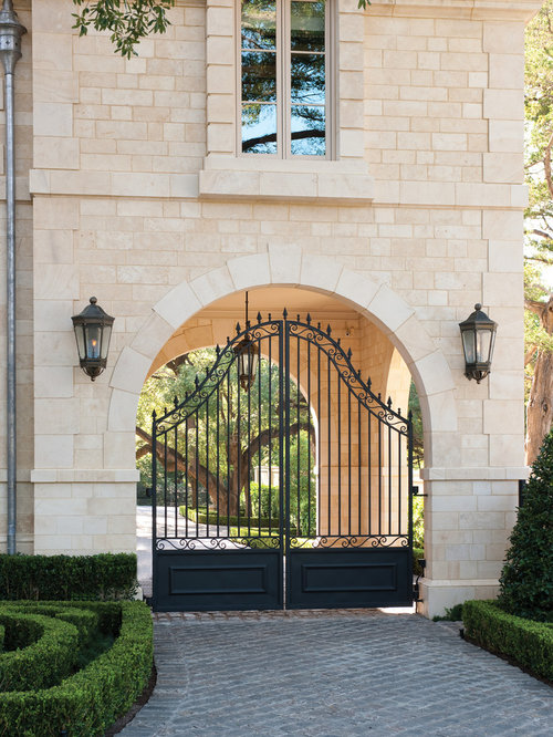 Entrance Gate Home Design Ideas, Pictures, Remodel and Decor on Gate Color Ideas  id=31206