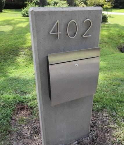 contemporary mailbox photos