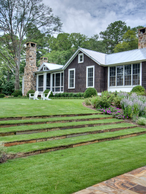 Synthetic grass lawn terrace ideas pictures remodel and for Terrace steps