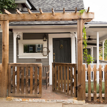 Front Entry Arbor