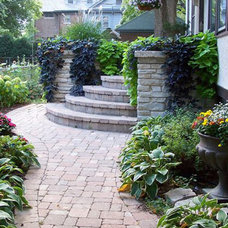 Traditional Landscape by Blanford Design