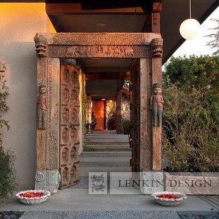 Front Entry Indian Door