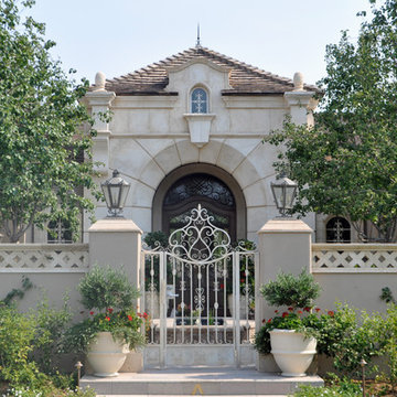 Front Entry Ironwork
