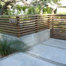 Contemporary Landscape by Urban Organics Design, Inc.