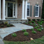 Front Flagstone Walkway And Stoop Alexandria Traditional