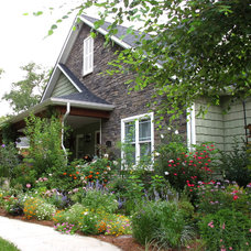 Craftsman Landscape Front Porch Makeover Summer 2010