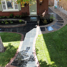 Contemporary Landscape by Green Roots Landscaping Inc