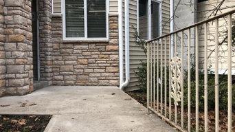 Front Yard Concrete