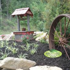 Farmhouse Landscape by Broward Landscape, Inc.