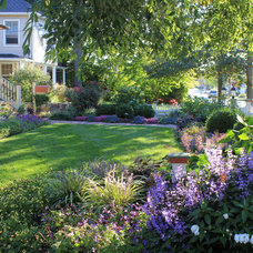 Traditional Landscape by Designing Eden llc