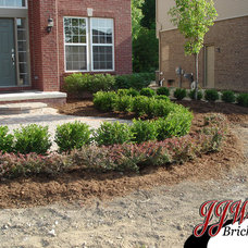 Traditional Landscape by JJW Brick.com