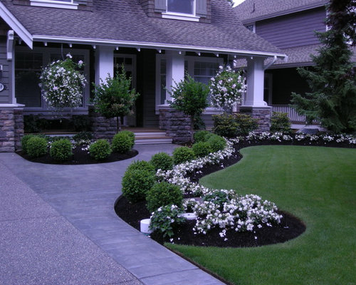 544851 landscape design photos - Front Lawn Design Ideas