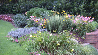 Front yard perennial garden Curb Appeal #11