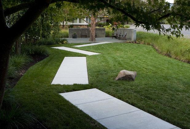 Minimalistisch Garten by Shades Of Green Landscape Architecture