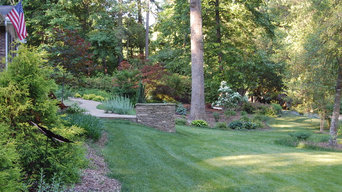 Front Yard Transformation in North Raleigh
