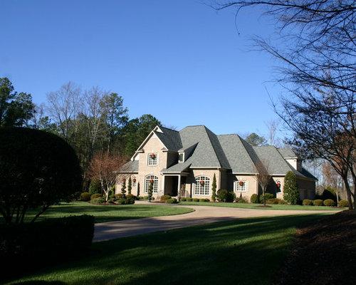 Shaped Driveway Landscaping : U shaped driveway houzz