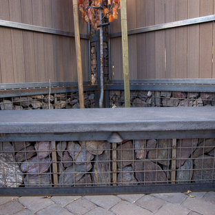 Gabions and Welding Create a Beautiful Blend
