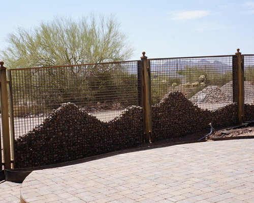 Gabion baskets home design ideas pictures remodel and decor for Gabions phoenix