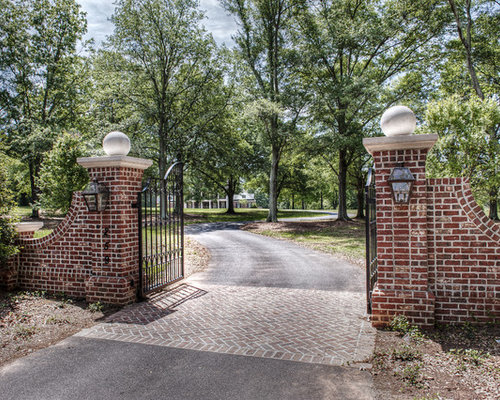 Gated Driveway Entrance Home Design Ideas Pictures