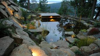Galiano Island Swim Pond