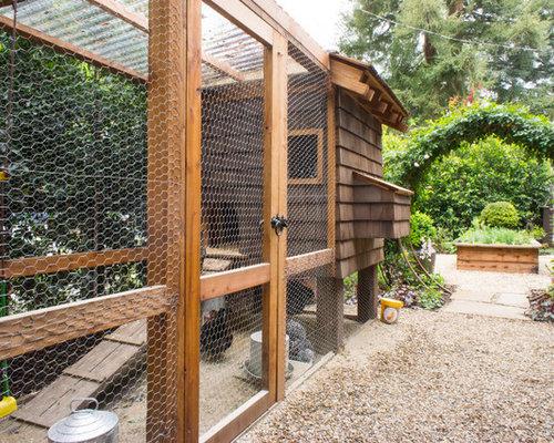 Chicken Wire Fence Houzz