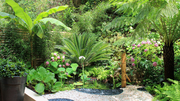 Méditerranéen Jardin by Riviera Gardens. Architecte Paysagiste Côte d'Azur
