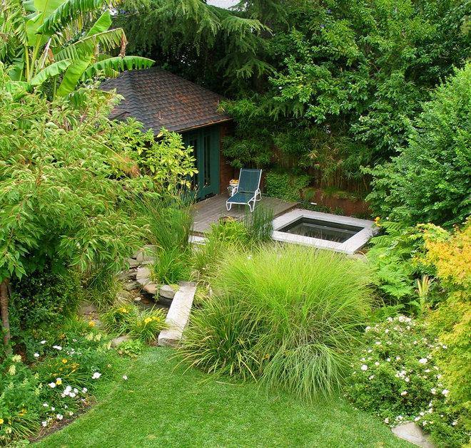 Asiatique Jardin by Garden Architecture