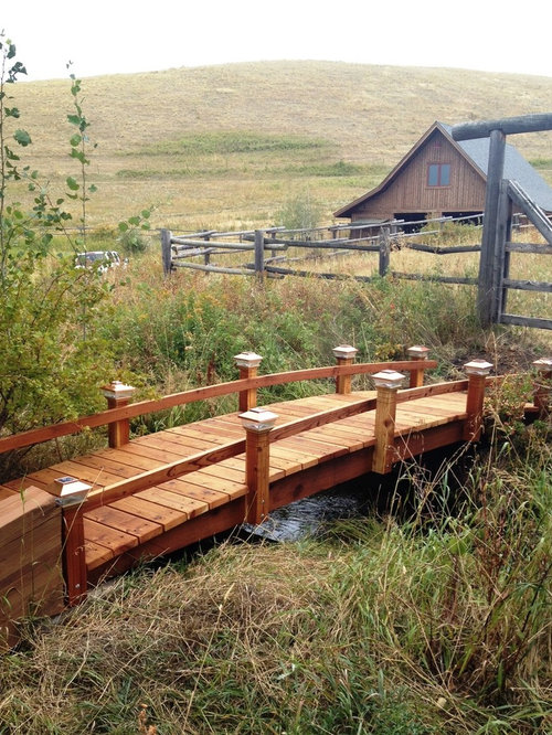 Japanese Garden Bridge Home Design Ideas, Pictures