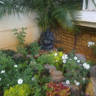 Garden corner rockery