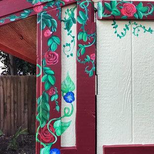 Rustikaler Garten in Austin