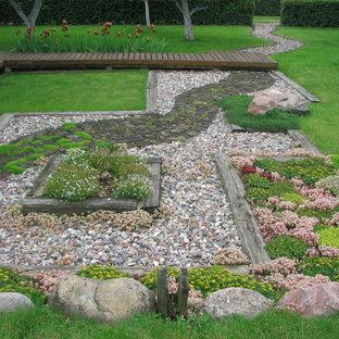 Rectangular Backyard Design | Houzz on Rectangular Backyard Design id=89100