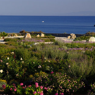 Garden design in Greece on the island of Paros