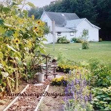 Farmhouse Landscape by Karen Savage Design