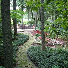 Traditional Landscape by Wood Landscape Services, Ltd.