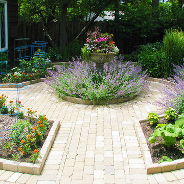 Garden For Flowers and Vegetables