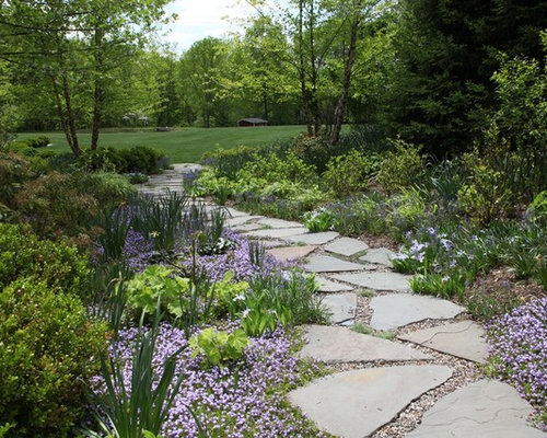 gravel and paver pathway photos - Paver Walkway Design Ideas