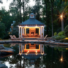 Traditional Landscape by Rill Architects