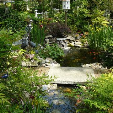Garden Pond Rydal, Pa