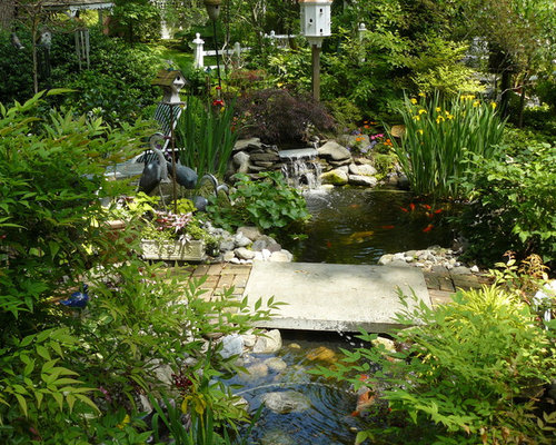 Garden Pond Design Pictures | Houzz