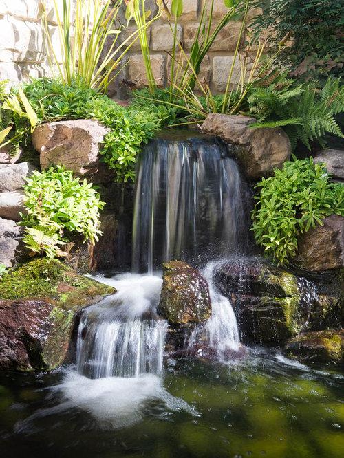 Best Pond Landscaping Ideas Design Ideas & Remodel ... on Courtyard Pond Ideas id=46171