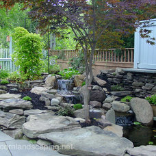 Eclectic Landscape by Acorn Ponds & Waterfalls