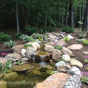 Garden Ponds, Fish Ponds, Koi Ponds, Waterfall Ponds Rochester NY by Acorn