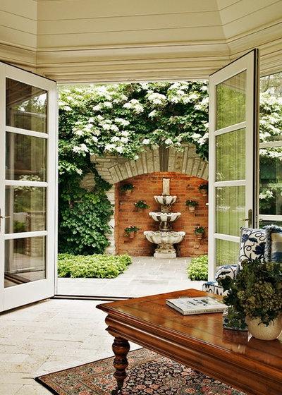 Traditional Garden by Dan Waibel Designer Builder